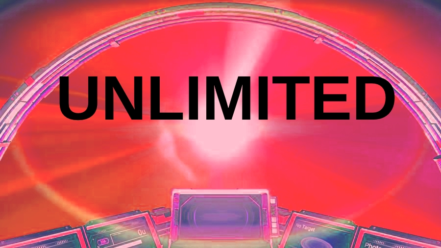 Unlimited Hyper Drive Distance + Unlimited JetPack (optional) + Zero Launch Cost (optional)