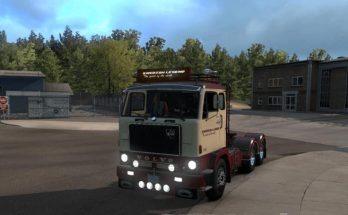 Volvo F88 + BDF trailer v 1.1