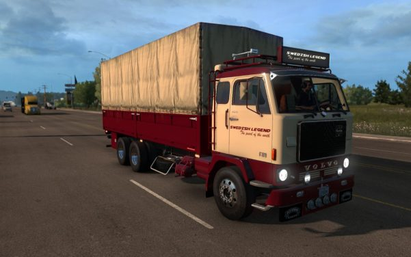Volvo F88 + Custom BDF trailer ownership for ATS 1.32.x and up