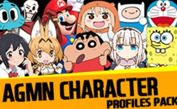 AGMN Character Profile Pictures Pack v2.0