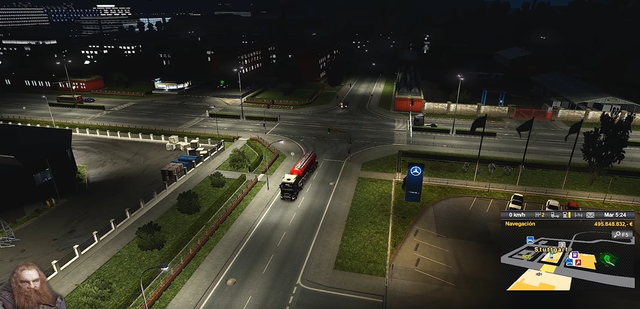 AI Realistic lights V 2.3 for ETS2 1.33.x