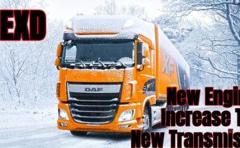 DAF XF Euro 6 New Engine 650-750 by alexdedu