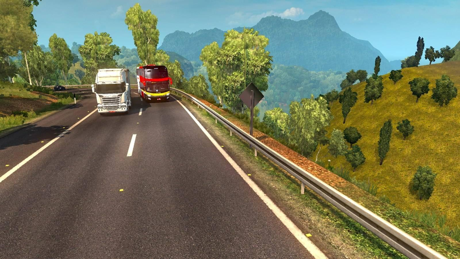 EAA Truck map v5.0.8 1.33.x