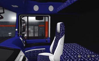 Interior package & steering wheel Trucks v1.4 For 1.33.x