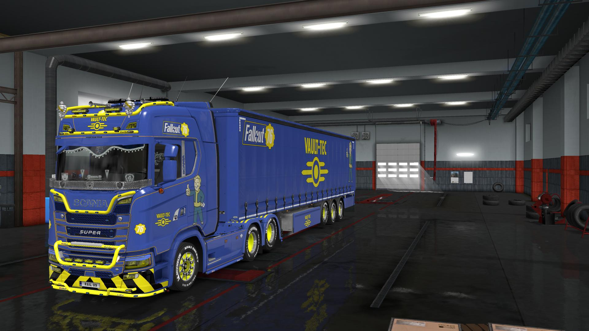 Fallout 76 Truck and Trailer Skin Pack 1 33   Allmods net