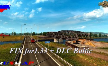 Fixed RusMap v1.8.1 for Baltic DLC 1.33.x