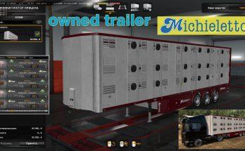 Ownable livestock trailer Michieletto v1.0