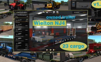 Ownable overweight trailer Wielton NJ4 v1.2