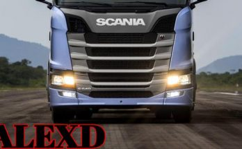 Scania S & R 2019 Engines 1.33
