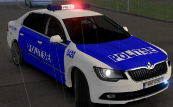 Skoda Superb Estonia Police V2 Beta