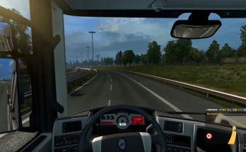 Mod for Steering Wheel of 180-270 Degrees for ETS2 1.33.x