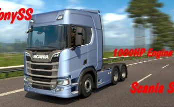 1000 hp Engine for Scania S 1.33.x