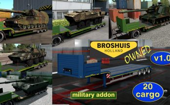 Military Addon for Ownable Trailer Broshuis v1.0 ets2