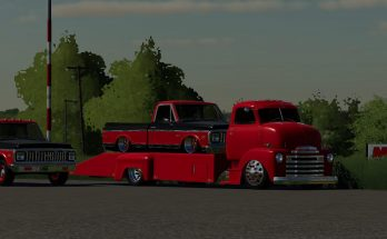 48 Chevy ramp truck and 71 Chevy C10 v 1.0