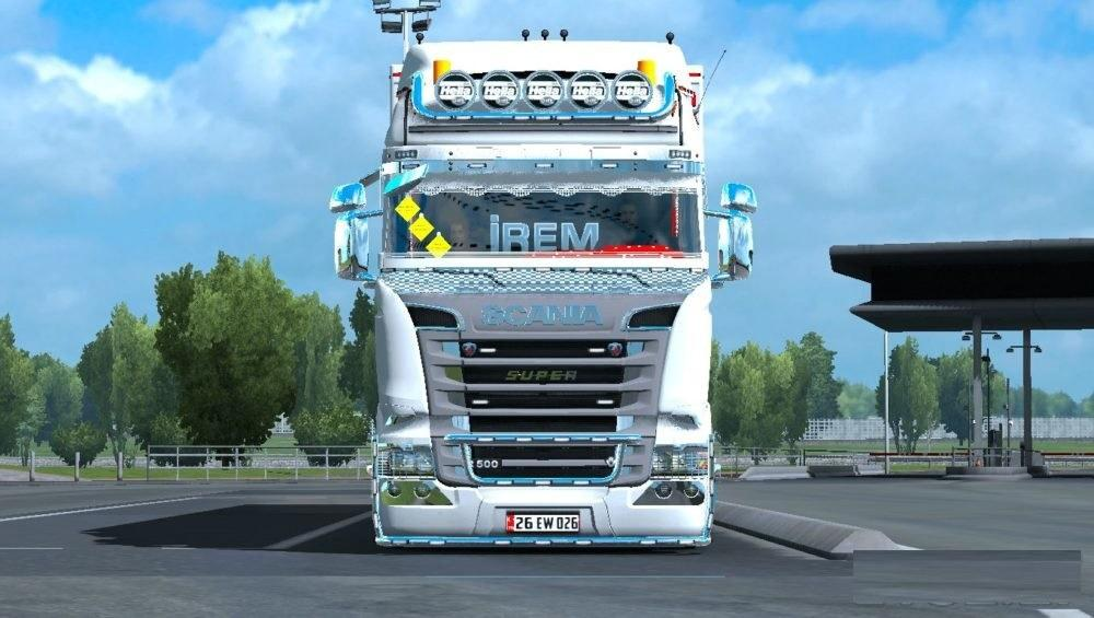 ETS2 Scania Irem Truck R500 V8 Upgrade v2.0