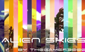 Alien skies – Procedural sky colors overhaul for visions