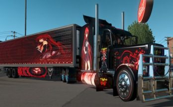 High School DXD Anime Trailer's and Truck Skin