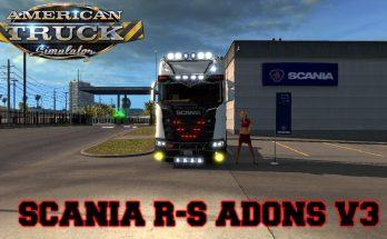 Scania R S Adons v3 for ats 1.33.x