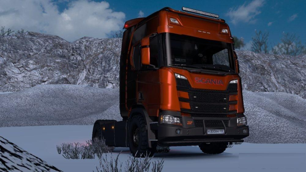 Accessories for Scania R&S NextGen v1.0