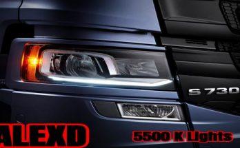 ALEXD 5500 K Lights v1.0
