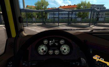 Dashboard for DAF XF105 1.33.x