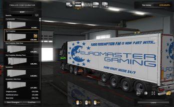 Euromaster Gaming Fleet Trailers v1.0