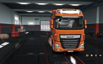 Exterior/Interior DAF XF Euro 6 v1.0