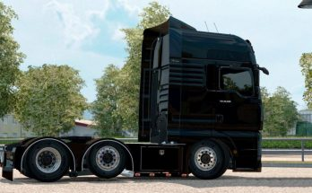 Low Chassis for MAN TGX edited 1.33.x