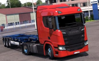 Low Chassis for Scania R&S v1.0 edited 1.33.x ets2