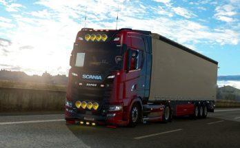 Realistic Sound Scania R&S Mod v1.0 1.33.x