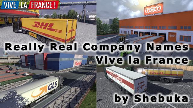 Really Real Company Names - Vive la France! 1.33