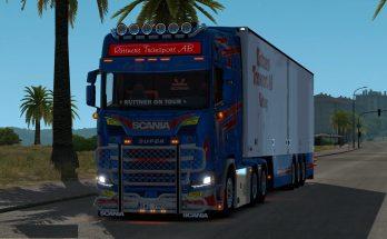 Ruttners Transport Scania 1.32-1.33.x ets2 mod