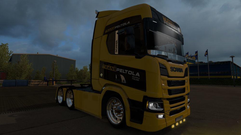 Scania 2016 TransPeltola v1.0