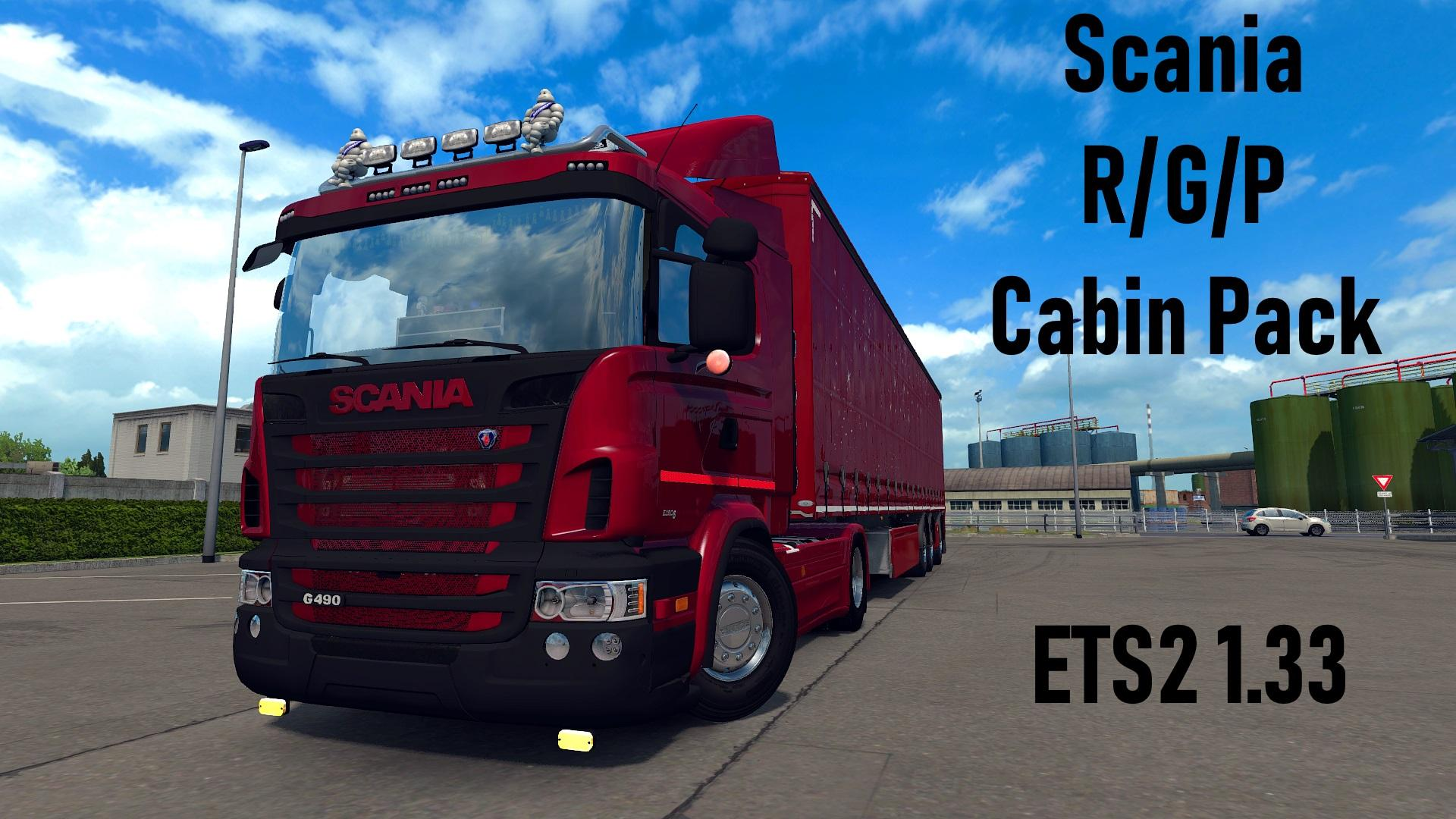 Scania R/G/P Cabin Pack 1.33.x