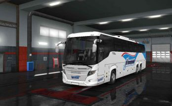 Scania Touring Bus - Skin C.T.M For ETS2 1.33.x