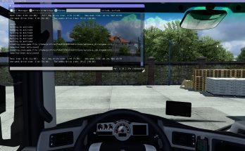 Simple Tachograph for ETS2/ATS v1.0