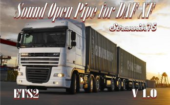 Sound Open Pipe for DAF XF V1.0
