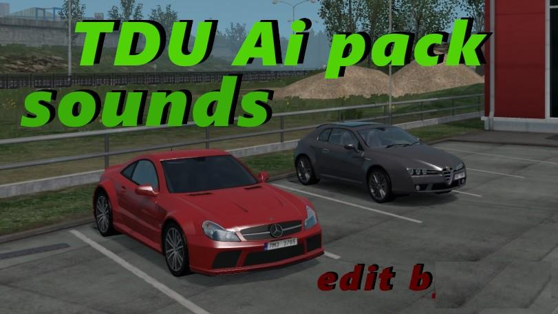Sounds for TDU Pack 1.33 edit by Cip (minor update)