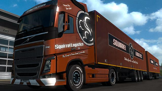 Squirrel Logistics Combo 2019 1.33.x