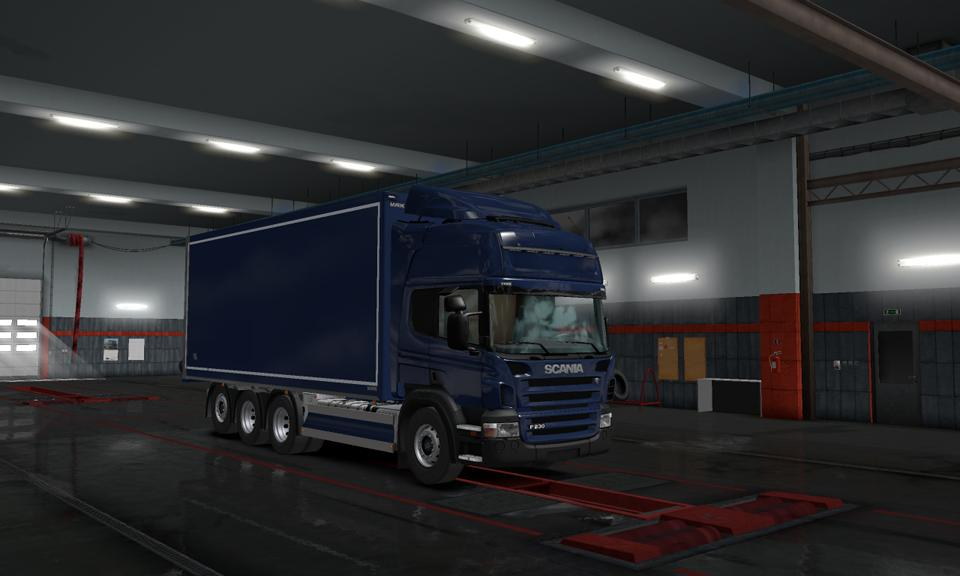 Tandem Addon for Scania G&P series v1.0