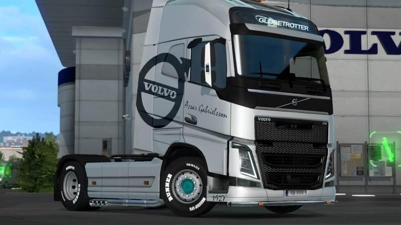 Volvo Metallic Skin Pack 1.33
