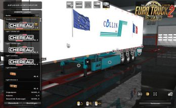 Double Dutch Lights v1.0 for Chereau Trailer by MDModding