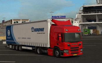 Scania NGS P Cab (add-on for R chassis) v1.0 1.33