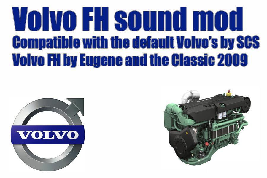Volvo FH sound mod 1.33.x