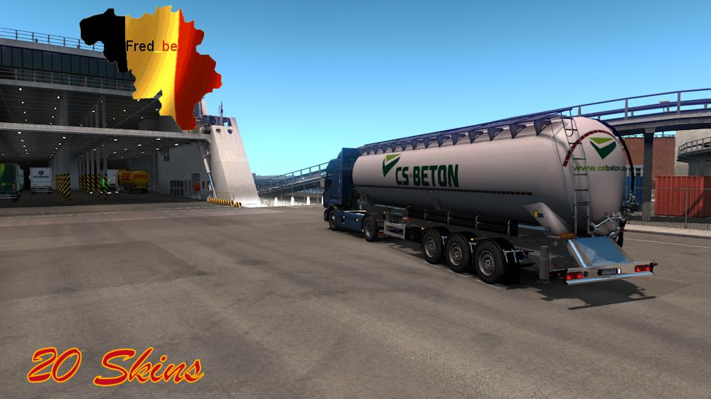 Trailer Pack Cistern 1.33.x