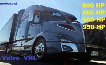 New engines for Volvo VNL v 1.0