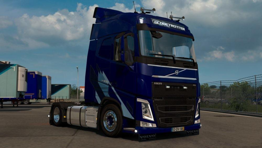 Addon for Volvo FH16 by Sogard3 with Truck for the 1.33.x