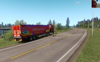 Aliexpress Combopack 4k krone Trailer and Mercedes actros mp4 v1.0