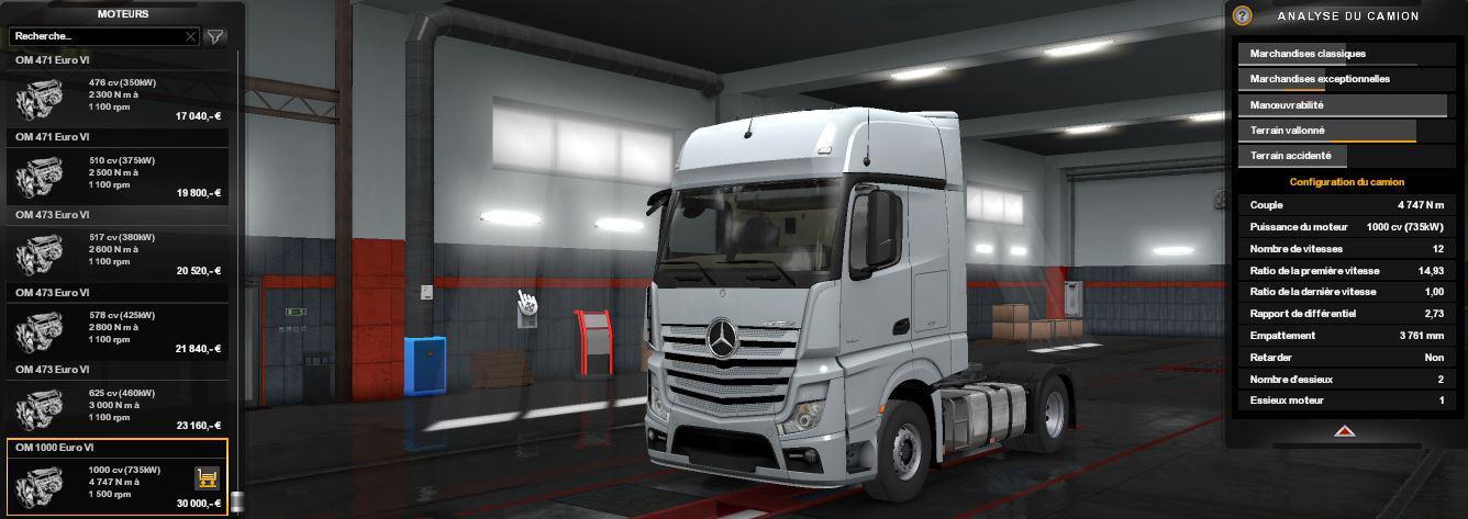 All Trucks 1000 HP 1.33.x