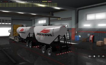 Cement Trailer Ownable 1.34